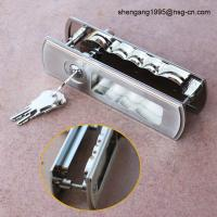 Sliding Door Lock Handle Decorative Zinc Alloy Sliding Door Key Lock / Handle Manufactures