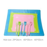 Best Oven Cooking Pastry Living Utensil Professional Cake Flexible Silicone Baking Mat Manufactures