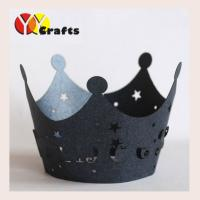 China Crown cupcake wrapper Baby Shower Party decoration laser cut cupcake wrappers on sale
