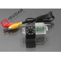 China 8 LED HD CCD Night Vision Backup Camera , Volkswagen Polo Reverse Camera on sale