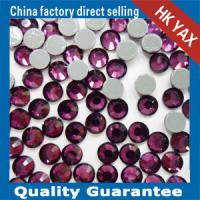 high quality hot fix crystal stone,crystal rhinestone for garment,hotfix crystal stone Manufactures