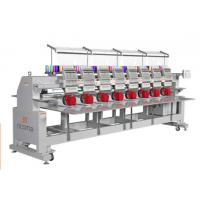 Quality Computerised Four Head Embroidery Machine For T - Shirt And Cap , High Speed for sale