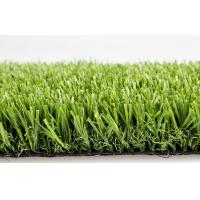 Natural U Shaped Ornaments Playground Artificial Grass For Roofting / Decking / Balcony Manufactures