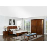 Quality New design Nanmu Solid wood Bedroom furniture set By ISO9001 and FSC china good factory to sell high end quality for sale