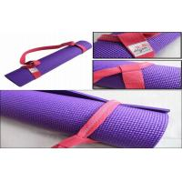 12cm Durable Colourful 6 Feet Yoga Mat Strap For Exercise Equipment Manufactures