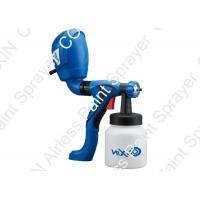 Hand Held Paint Sprayer 2.5mm , Blue Red Airless Electric Paint Sprayer HVLP System Manufactures