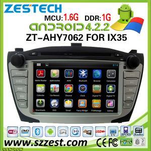 China ZESTECH Android 4.2.2 system dvd car radio gps for Hyundai IX35 car radio gps audio with dvd player gps navigation on sale