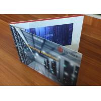 High impact promotional video advertising card 7inch TFT screen lcd video book with CMYK Printing  for product sales
