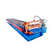 Hydraulic Roof Panel Roll Forming Machine , Ibr Color Steel Cold Roll Forming Equipment Manufactures
