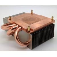 120W Copper Base Plate Aluminum Fin Copper Pipe Heat Sink For CPU Cooling Manufactures