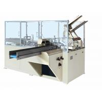 Trayed Food Gift Box Packing Machine By Servo And Step Motor Driving Manufactures