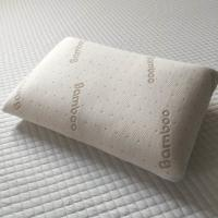 China Bamboo fabric cover memory foam pillow, comfortable and soft sleeping pillow with removable bamboo cover on sale
