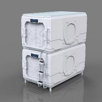 Hostel Vertical Soundproof Capsule Bed Science Fiction Stainless Steel Hand Manufactures