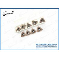 Durable WCMT Cemented Carbide Drilling Inserts For Hole Making Tools Manufactures