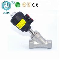 China 1/2 Inch Pneumatic Pressure Control Valve With Plastic Actuator PTFE Seal on sale