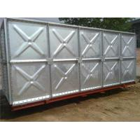 China Factory Galvanized Steel Sectional Water Tank collapsible water tank on sale