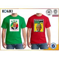 OEM Election Campaign Custom T Shirt 100% Cotton For Election Advertising Manufactures
