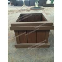 WPC planter pot OLDA-7011B 698mm*698mm*500mm Manufactures