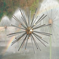 China Outdoor Dandelion Fountain Nozzle Crystal Ball Fountain Nozzle Lz8018-a on sale