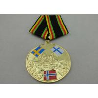 ERLING LOPEZ Die Stamping Copper / Zinc Alloy / Pewter Custom Awards Medals for Sport Meeting Manufactures