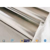 7/14/18μ Heat Sealing Aluminium Foil Backed Fiberglass Fabric Satin Weave Manufactures
