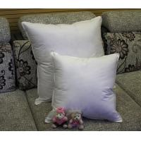 Quality 2cm - 4cm White Duck Feather Cotton Sofa Cushion Replacement Inserts Double Stitched Piping for sale