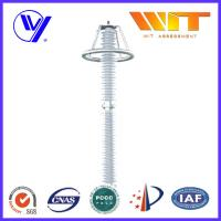 IEC Composite HV Lightning Arrester Surge Protection Device with Grading Ring Manufactures