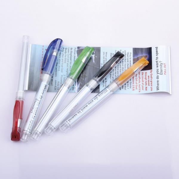 Quality advertising flag banner pen, promotional gift banner pen for sale