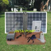China High Pressure DC Submersible Solar Powered Pump with 3m Cable , JS3-1.3-50 on sale
