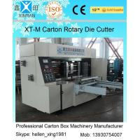 China Corrugated Colorful Carton Rotary Die-Cutting Machine For Die Cutting And Molding on sale