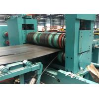 Colored Steel Coil Slitting Line Thickness 0.3 - 3mm 100 M Every Minute Manufactures