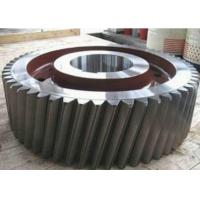 Spare Parts CNC Machining Gears , Low Speed Cutting Cross Screw Helical Spiral Gears Manufactures