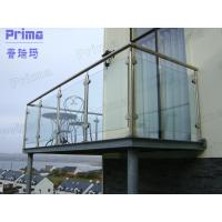 Customized Stainless Steel Post Glass Panel Balcony Railing Manufactures