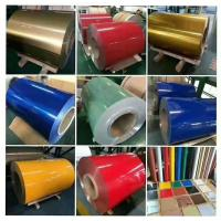 COLOR COATED ALUMINUM COILS FOR BUILDING/WALL/DECORATION/CEILING/ROOFING Manufactures