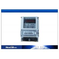 Card Prepayment Electric Energy Meter , Surge Protection Wireless Power Meter Manufactures