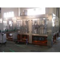 Drinking Water Electric Filling Machine for PET Bottle and Aluminum Can 220V / 380V 10KW