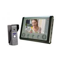 China Handfree intercom Video Door Phone Doorbell Intercom Kit–1camera on sale