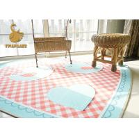 Waterproof Indoor Area Rugs , Room House Printed Chenille Door Floor Mats Manufactures
