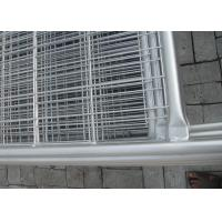 Construction Site Fencing Temp Fence Panels Hot Dipped Galvanized Pipe Manufactures