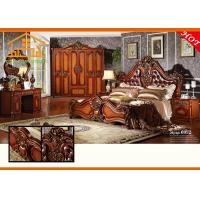 Latest design Imperial antique white Hand carved wooden heated elegant wall wardrobe bedroom furniture sets Manufactures