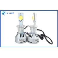 China Silver 6500k Cree LED Headlight Bulbs / Automotive Headlight Globes for Universal Cars on sale