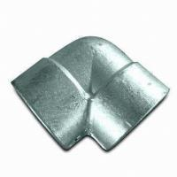 China 90 Degree Galvanized Carbon Steel Elbows Butt Weld Pipe Fittings Rust-proof Oil on sale