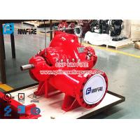 1500gpm @ 105-120PSI Diesel Engine Driven Fire Pump Set with UL / FM Certification For Pump And Diesel Engine Manufactures