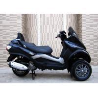 250cc Black Tri Wheel Motorcycle With Windshield Rear Box / CVT Transmission Manufactures