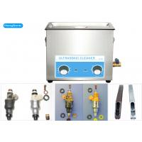 Stainless Steel Ultrasonic Auto Parts Cleaner , 30L 500Watt Ultrasonic Injector Cleaner Manufactures