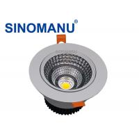 Diameter 110MM Adjustable LED Downlights , High Lumen Black LED Downlights Manufactures