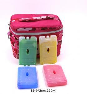 China OEM 220ml Bpa Free Hard Plastic Gel Cool Packs Fit & Fresh Ice Packs on sale