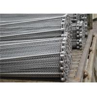 Stainless Steel Mesh Conveyor Belt , Horseshoe Wire Mesh Heat Resistance Manufactures