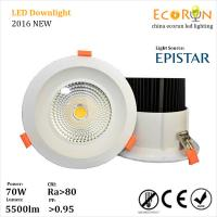 China high quality led downlight 6inch 8inch recessed cob downlight 20w 30w 40w 50w 60w on sale