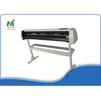 China 1.35 Meters Vinyl Cutting Plotter Machine With Double Cutter Position / Pressing Strips on sale